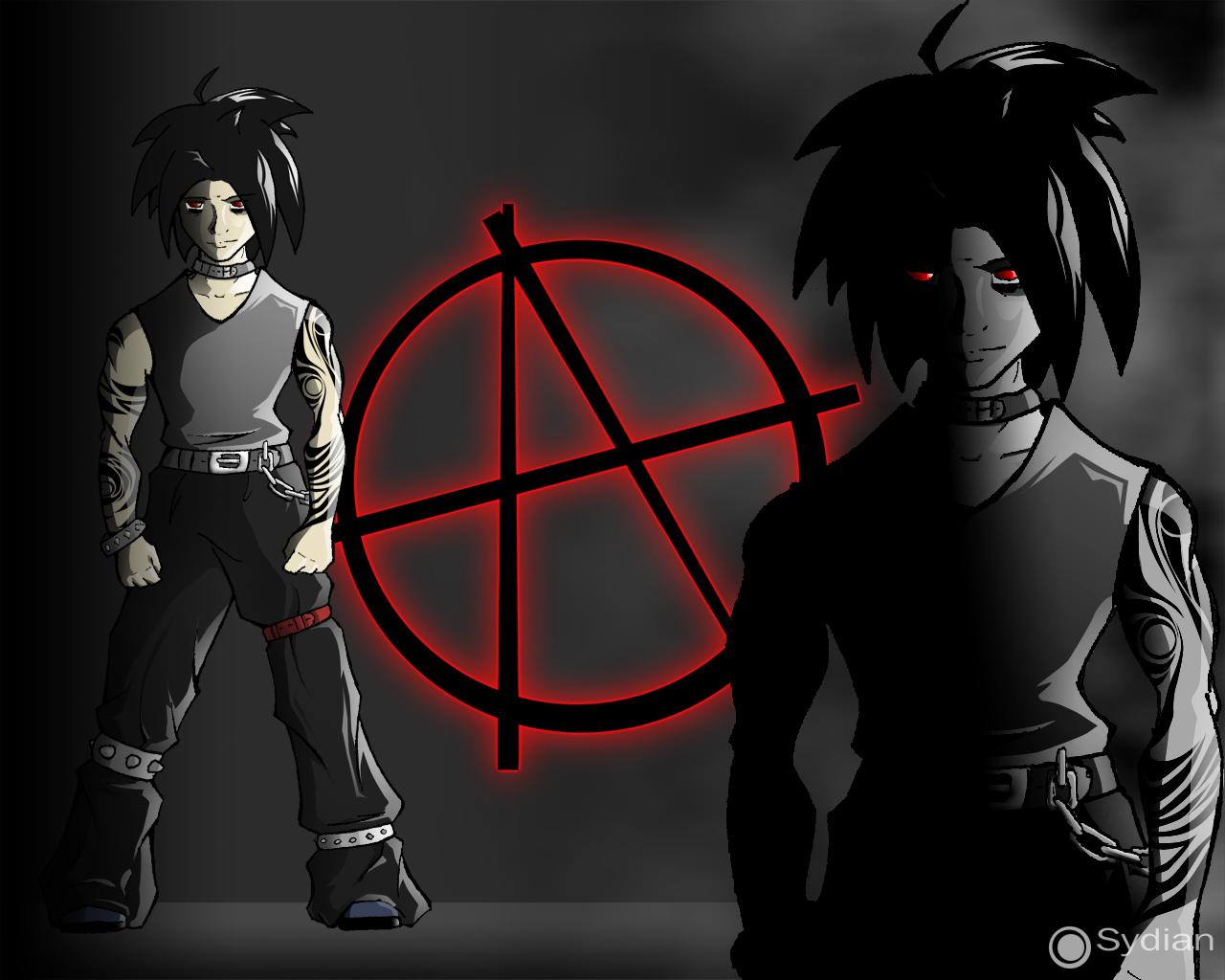 аватары анимированные со знаком анархии