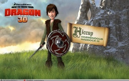 """Viking wallpaper from the movie """"How to Train Your Dragon"""