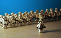 Wallpaper Lego Star Wars movie soldiers
