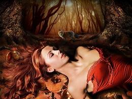 Die Seele des Herbstes wallpaper 1024x768