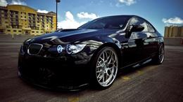 Black Wallpaper BMW Coupe 1920x1080
