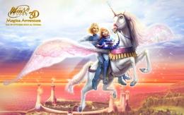 3d fond d'écran Winx 3D - Magica Aventura filles