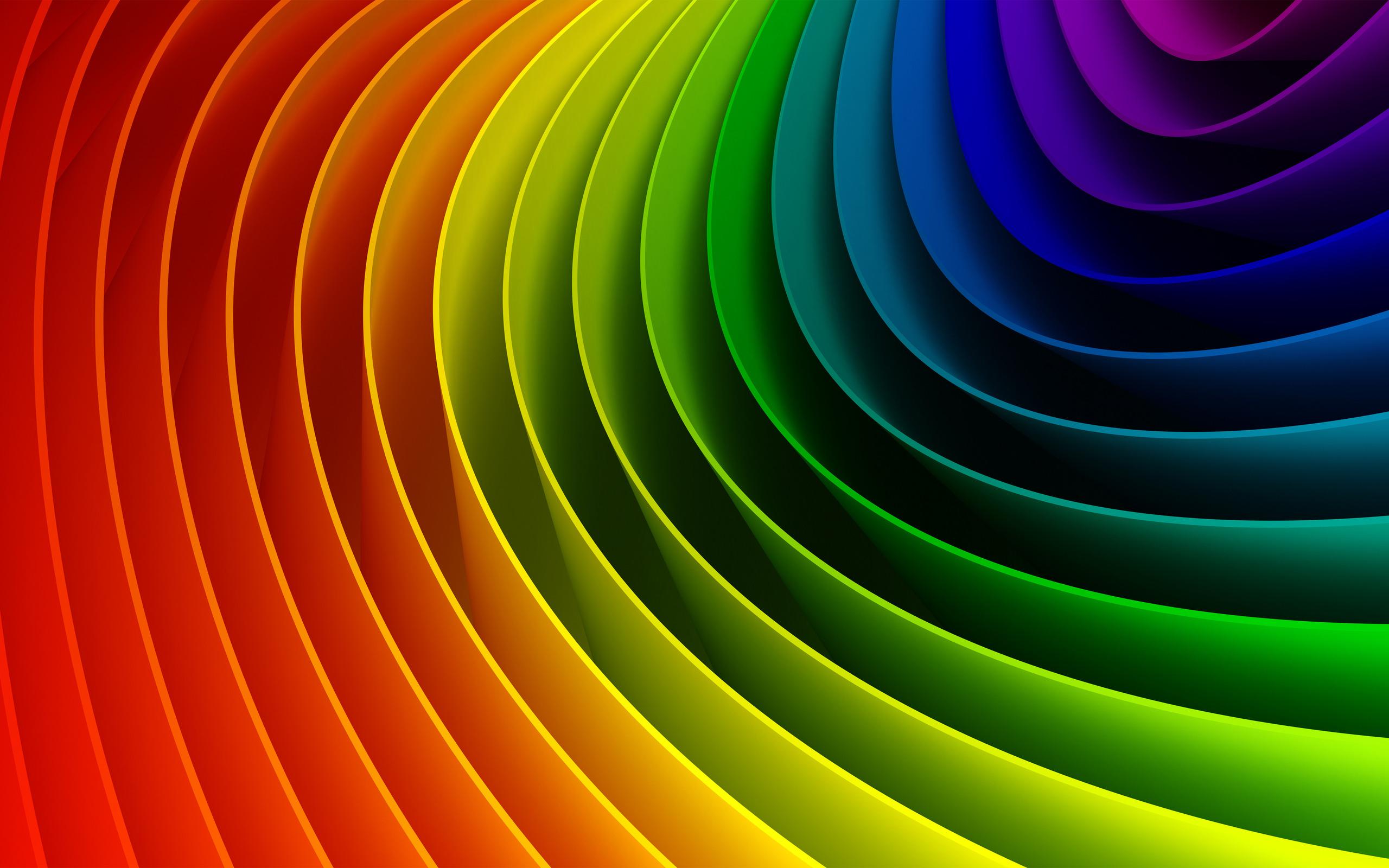 Alle farben des regenbogens wallpaper 2560x1600 2560х1600