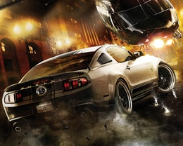 3d обои NFS: Побег (NEED FOR SPEED )  вертолеты