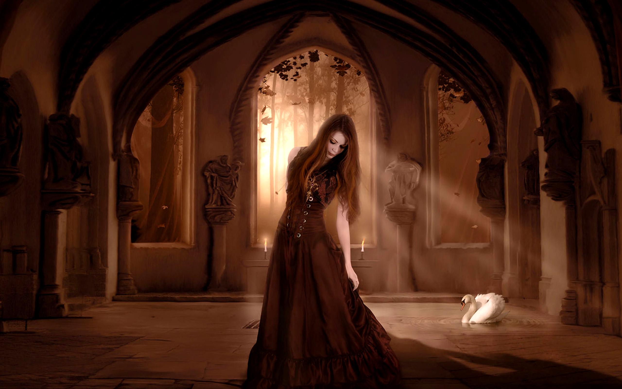 Фото девушек в замке 5 фотография