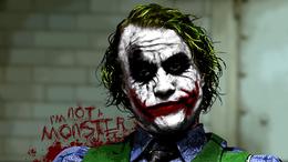 """Joker wallpaper from the movie """"The Dark Knight"""