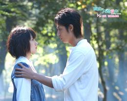 Wallpaper and Makoto Sizuru, the film I just love you / Tada, kimi wo aishiteru (Heavenly forest) movie