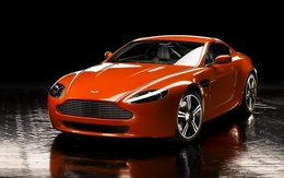 Wallpapers Aston Martin Vantage N400 water
