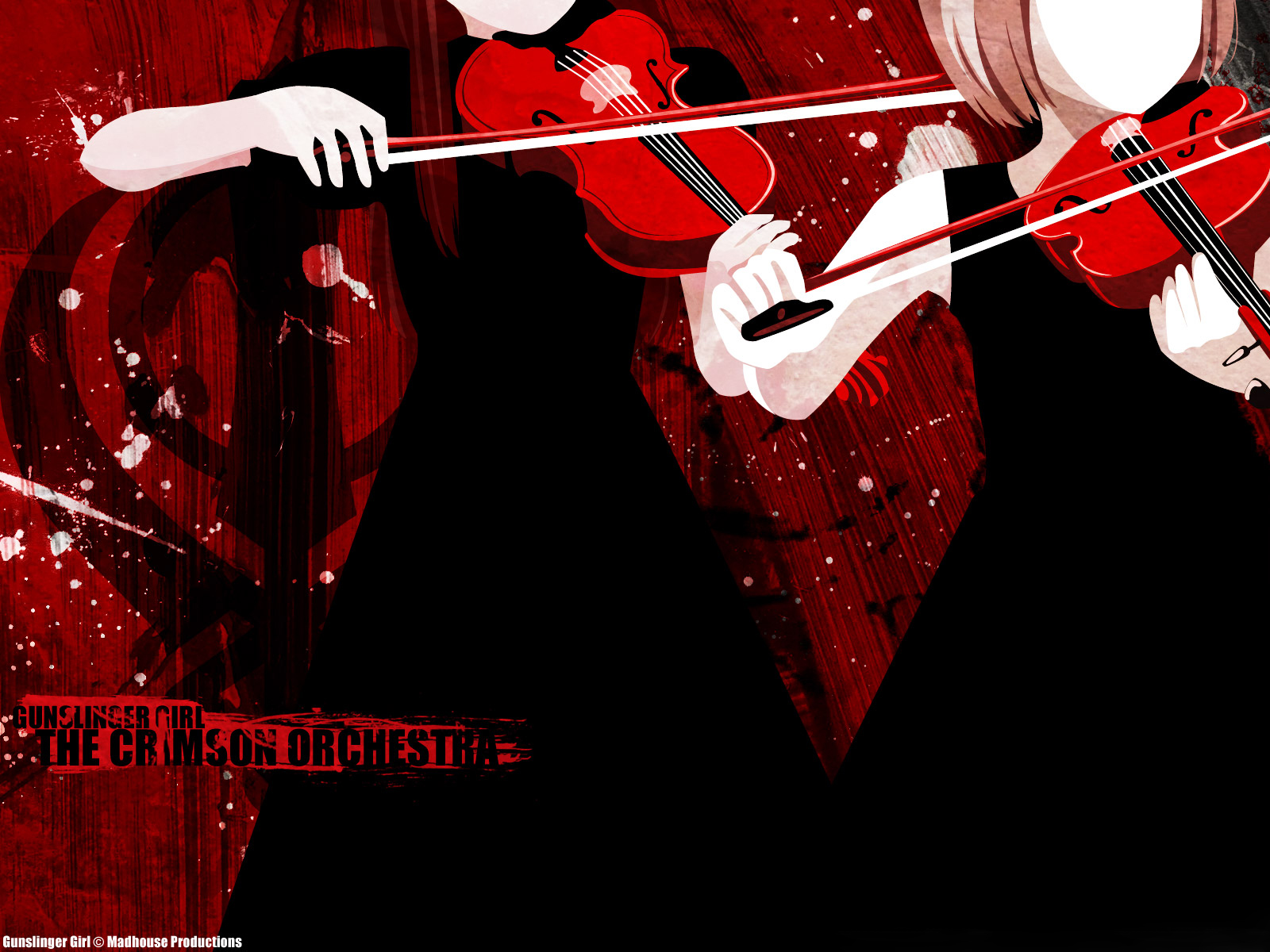 3d обои Gunslinger Girl The Crimson Orchestra (Gunslinger Girl © Madhouse Productions)  дети # 33954